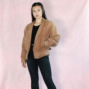VTG 1980s Leather Jacket
